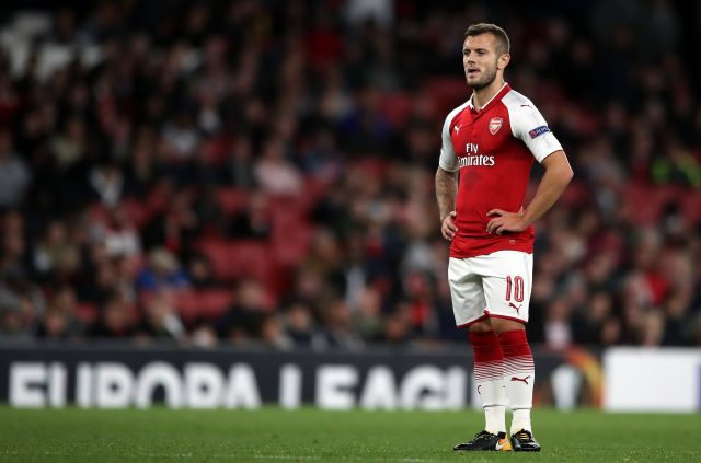 Jack Wilshere has struggled to secure a regular first-team place at Arsenal