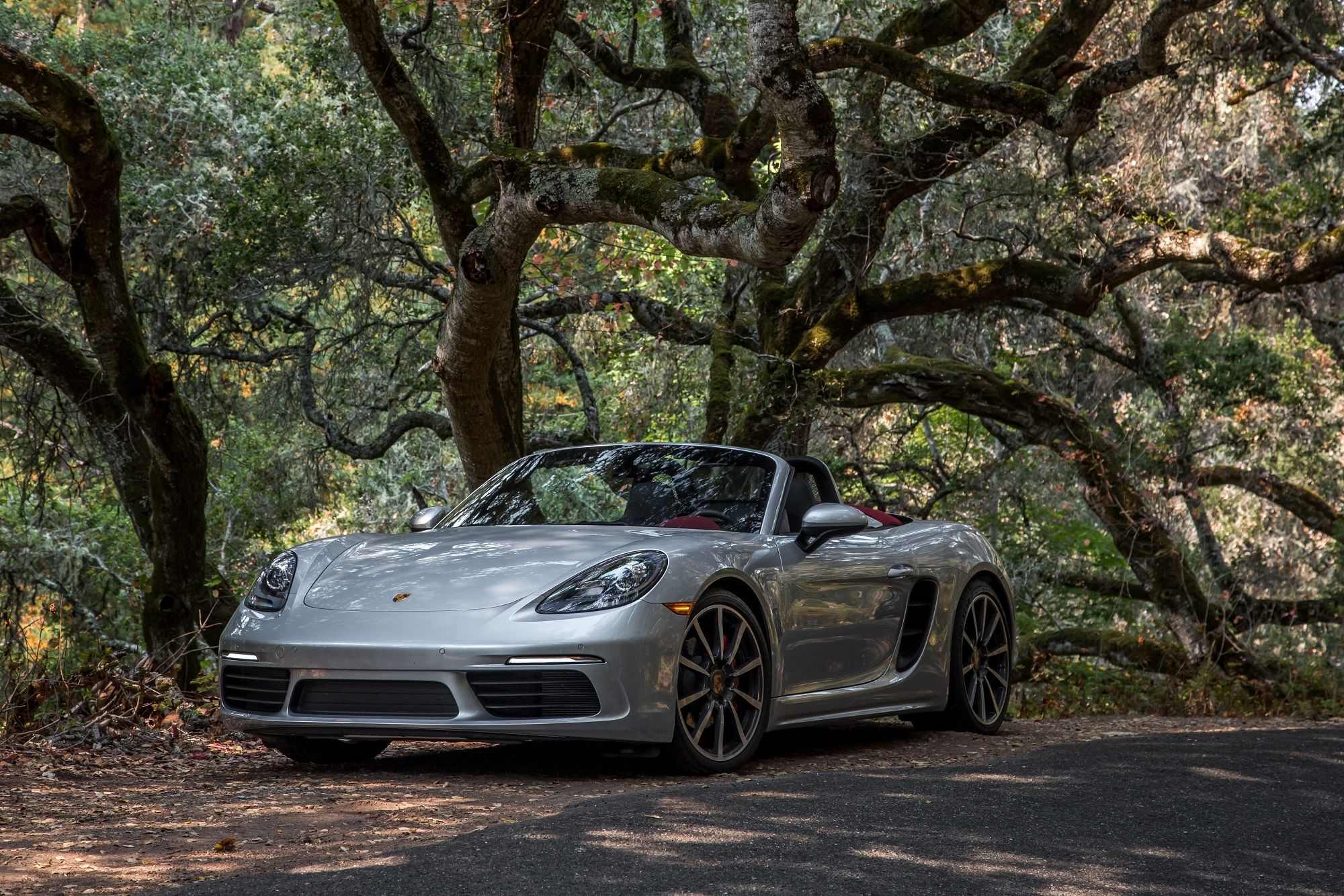 The Porsche 718 Boxster