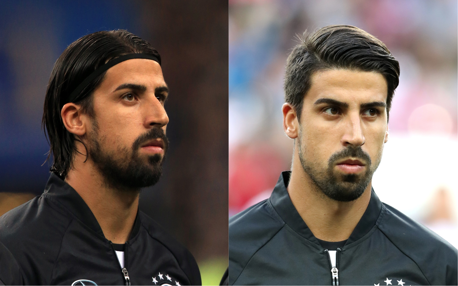 Khedira in 2015 and in 2016