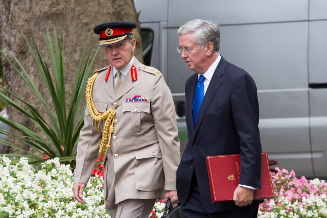 Sir Nicholas Houghton and Sir Michael Fallon