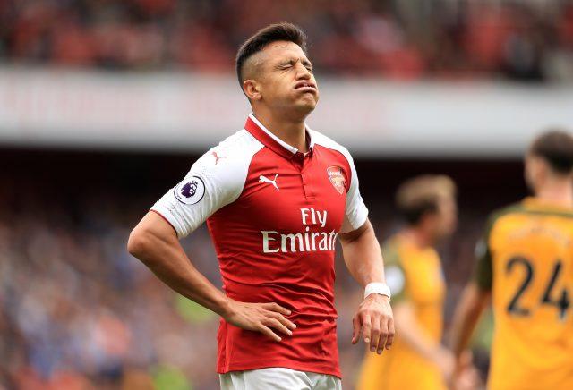 Alexis Sanchez's future remains uncertain