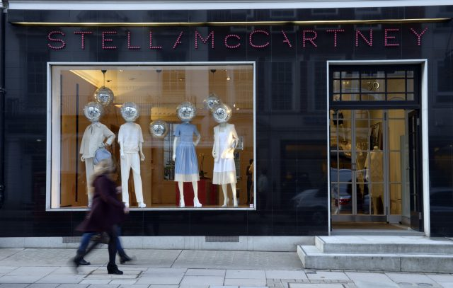 The Stella McCartney shop in Bruton Street, London (Jonathan Brady/PA)