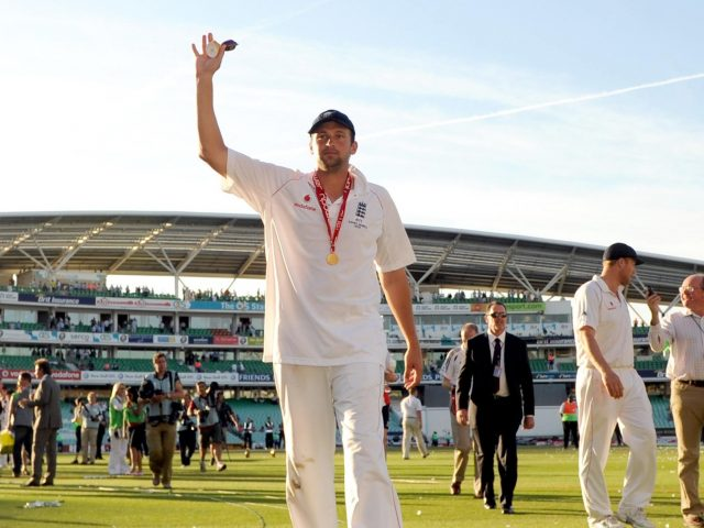 The Durham bowler helped England to Ashes glory in 2005 and 2009