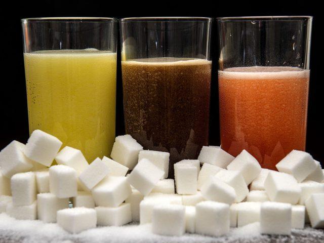 Sugary soft drinks