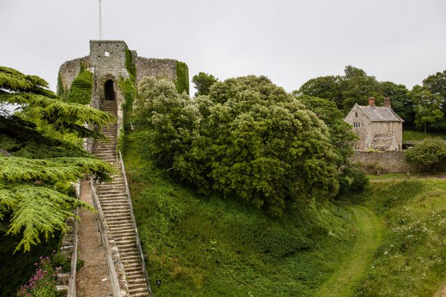 Carisbrooke Castle on the Isle of Wight. (English Heritage/PA)