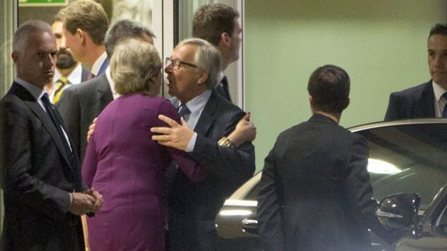 Following a working dinner in Brussels on Monday, the Prime Minister and Mr Juncker said their meeting had been