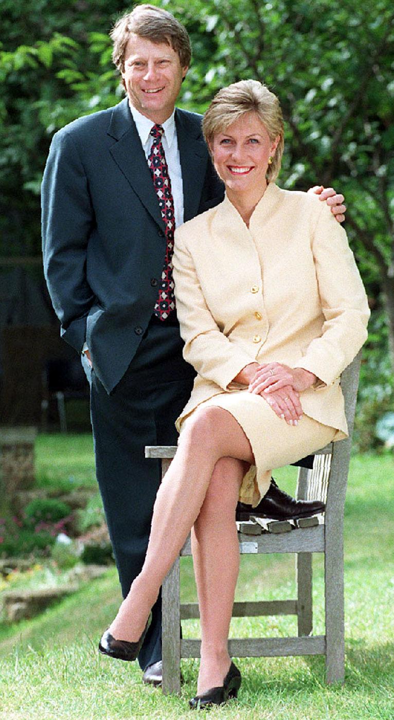 Crimewatch UK presenters Nick Ross and the late Jill Dando (David Cheskin/PA)