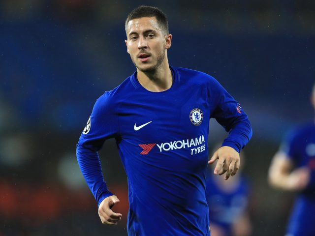 Eden Hazard has been in great form for Chelsea, despite not scoring for the club this season (Adam Davy/Empics)