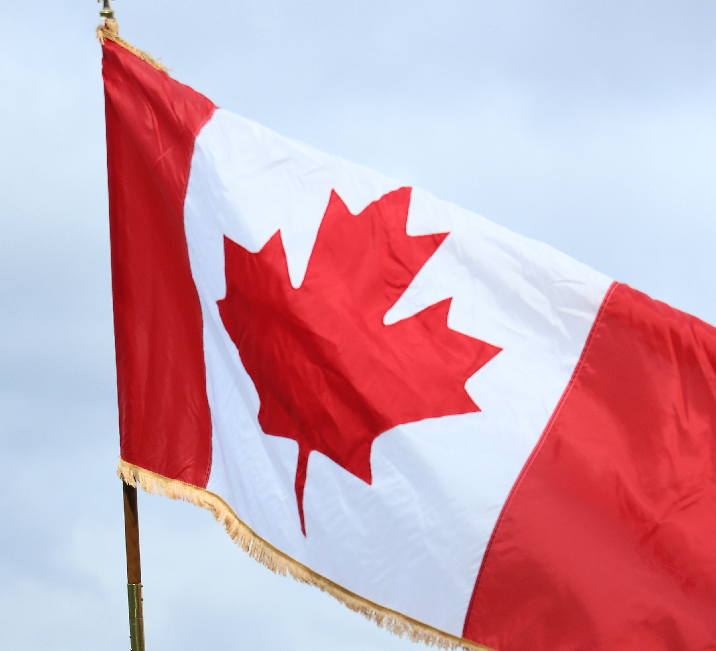 In What Year Was The First Canadian Flag Flown
