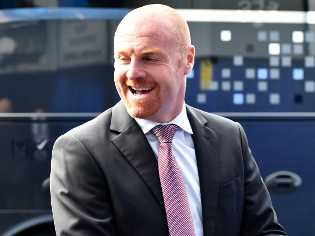 Burnley boss Sean Dyche