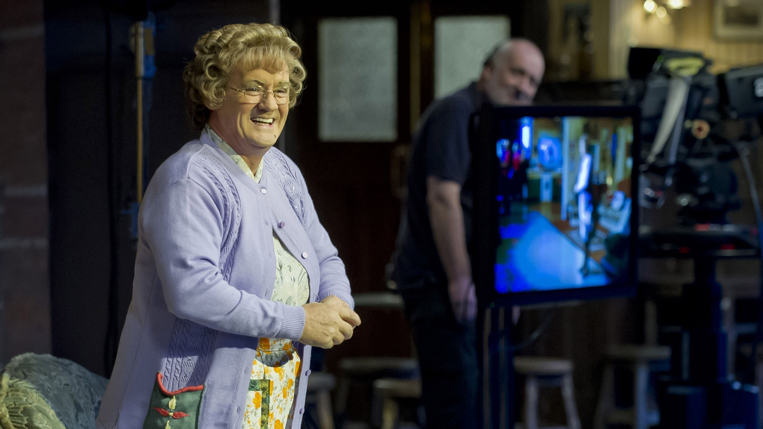 Brendan O'Carroll in Mrs Brown's Boys