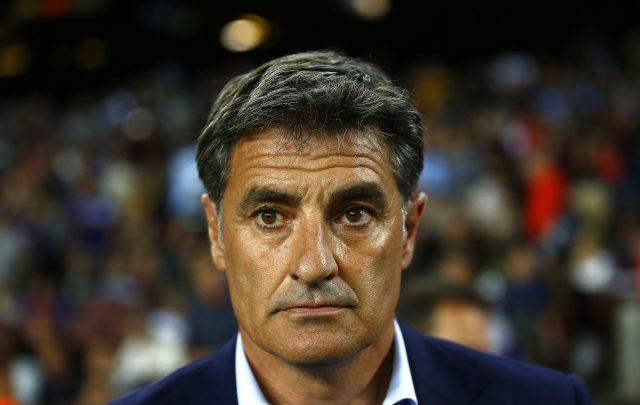 Michel Gonzalez's Malaga were beaten 2-0 in Barcelona