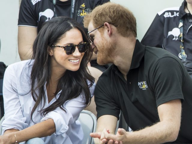 The couple made their first public appearance together at the Invictus Games in Toronto