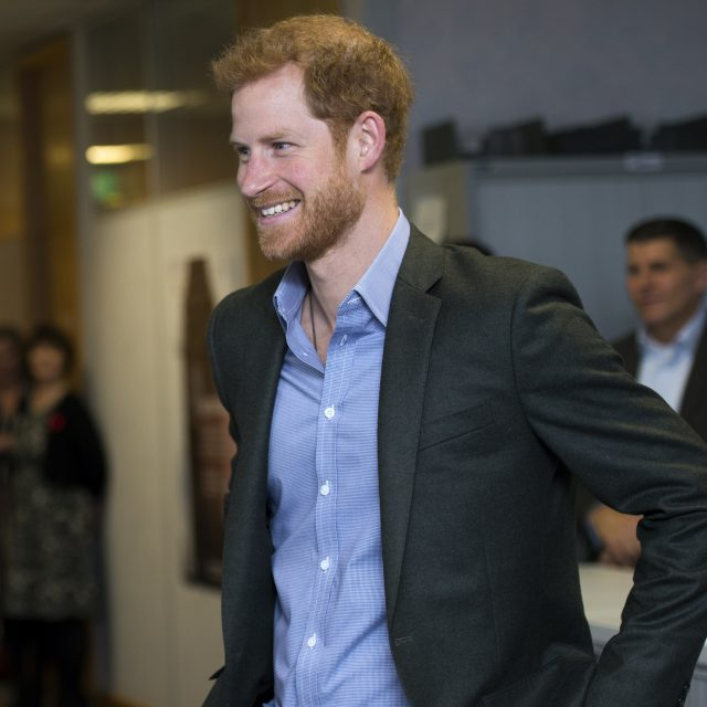 Prince Harry visits Veterans UK in Lancashire