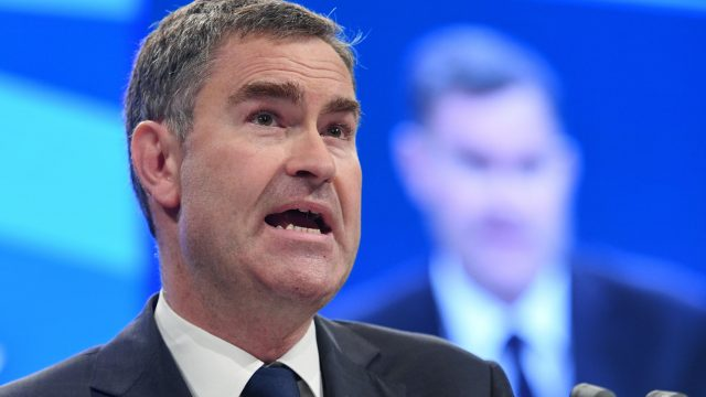 David Gauke was criticised for not attending an emergency debate