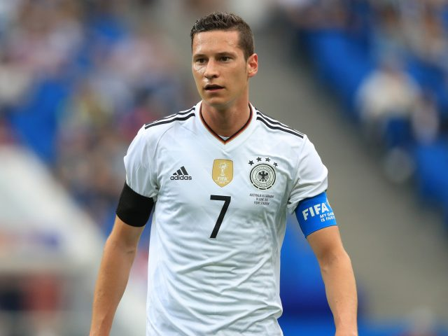 Germany international Julian Draxler