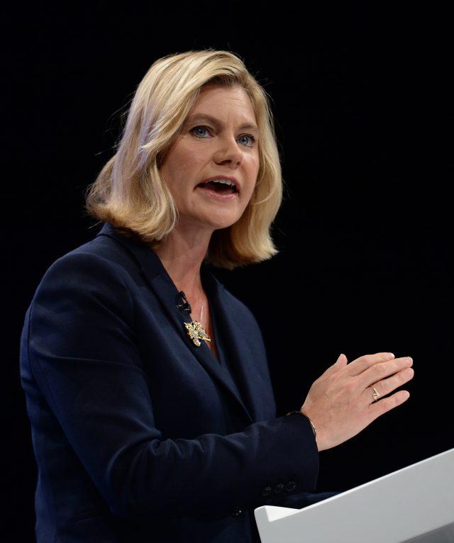 Education Secretary Justine Greening has defended the GCSE reforms (Stefan Rousseau/PA)