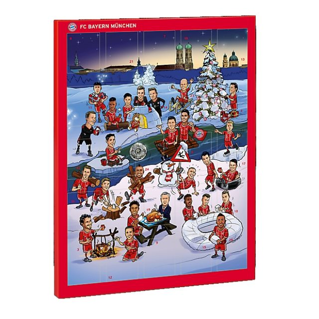 Bayern Munich Release Advent Calendar Featuring Sacked