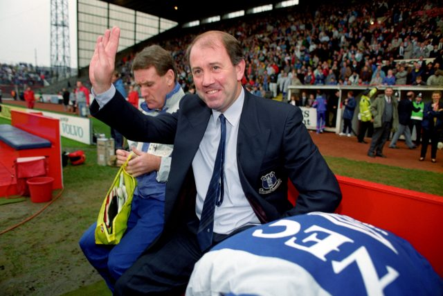 It was not always happy times for Howard Kendall