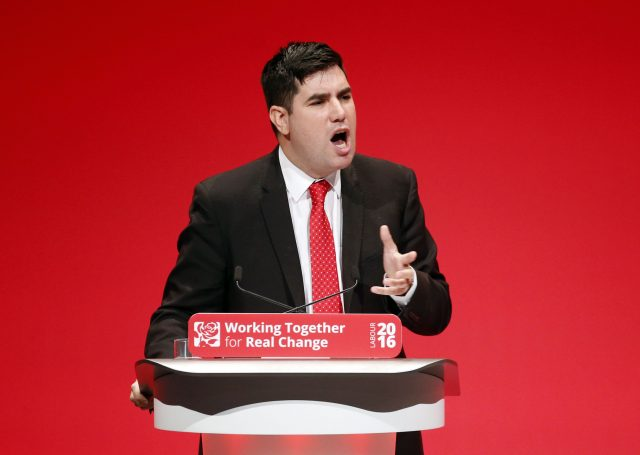 Shadow secretary of state for Justice Richard Burgon