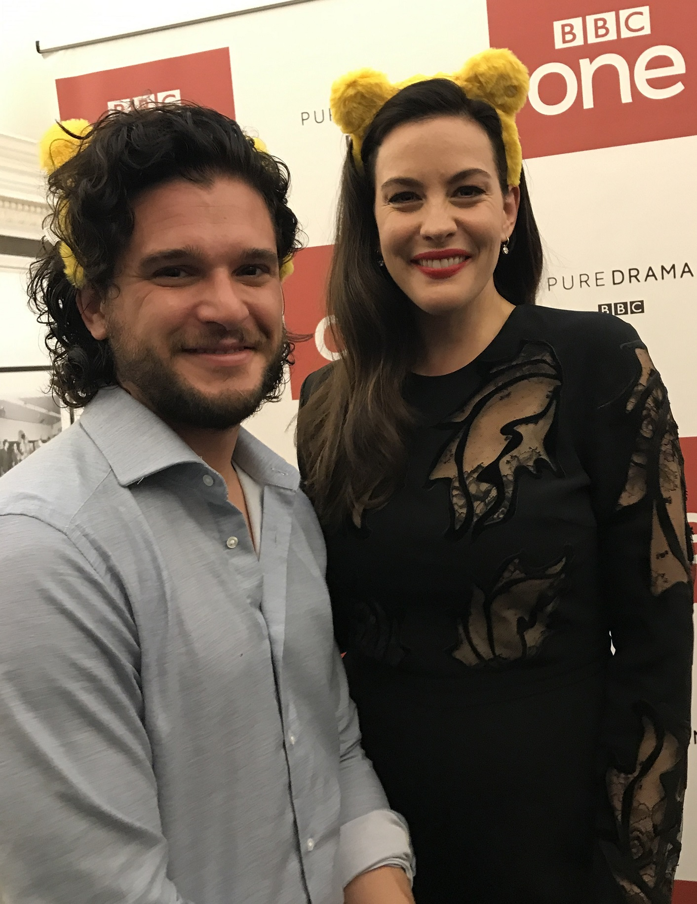 Kit Harington and Liv Tyler