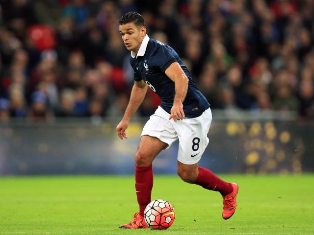 Hatem Ben Arfa in action for France
