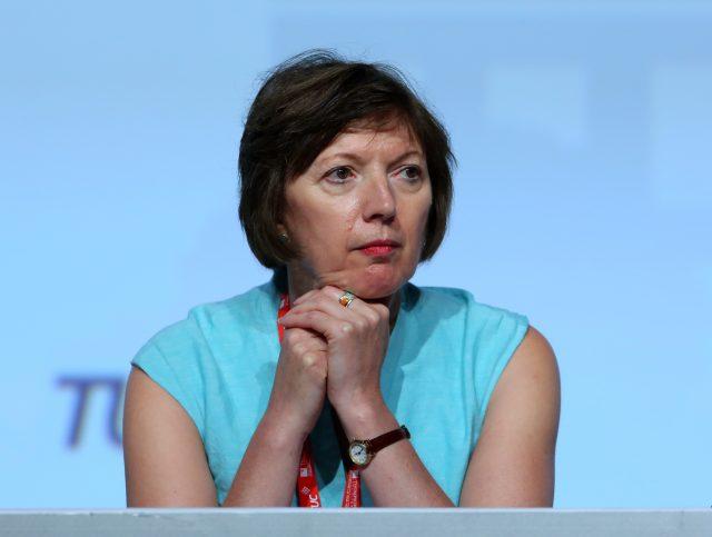 Frances O'Grady (Gareth Fuller/PA)