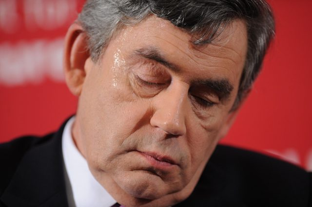 Gordon Brown in 2009