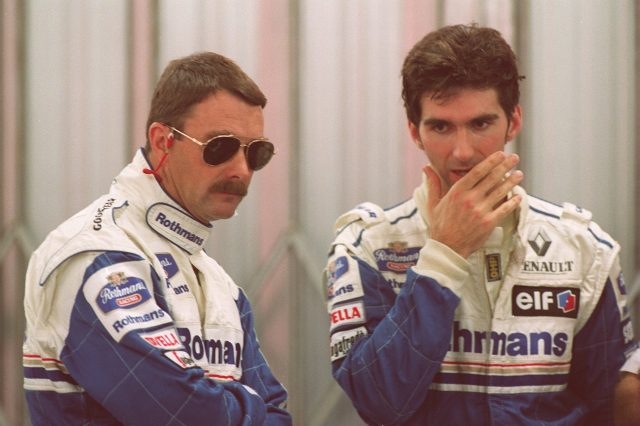 Nigel Mansell and Damon Hill were successful British drivers