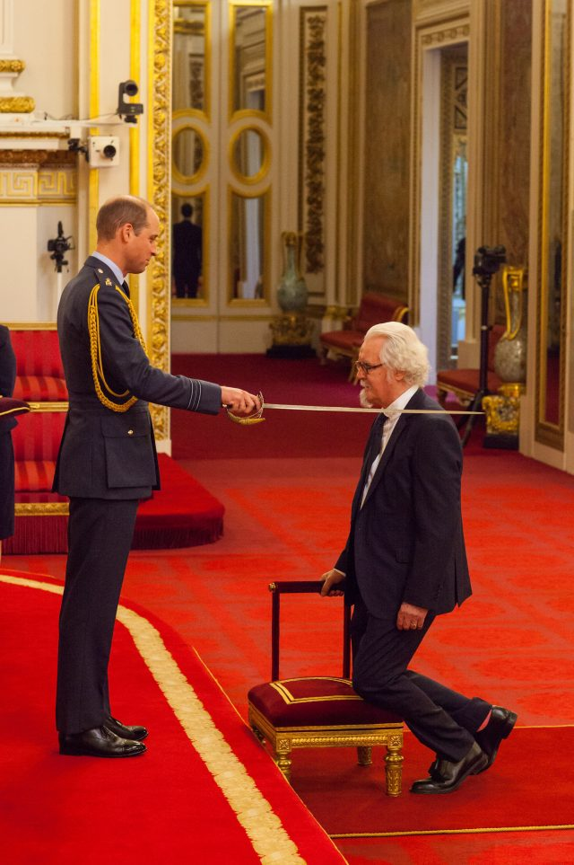 Sir William Connolly from Polegate is made a Knight Bachelor of the British Empire. (PA)