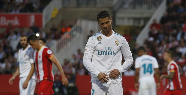 Cristiano Ronaldo could not find the net against Girona