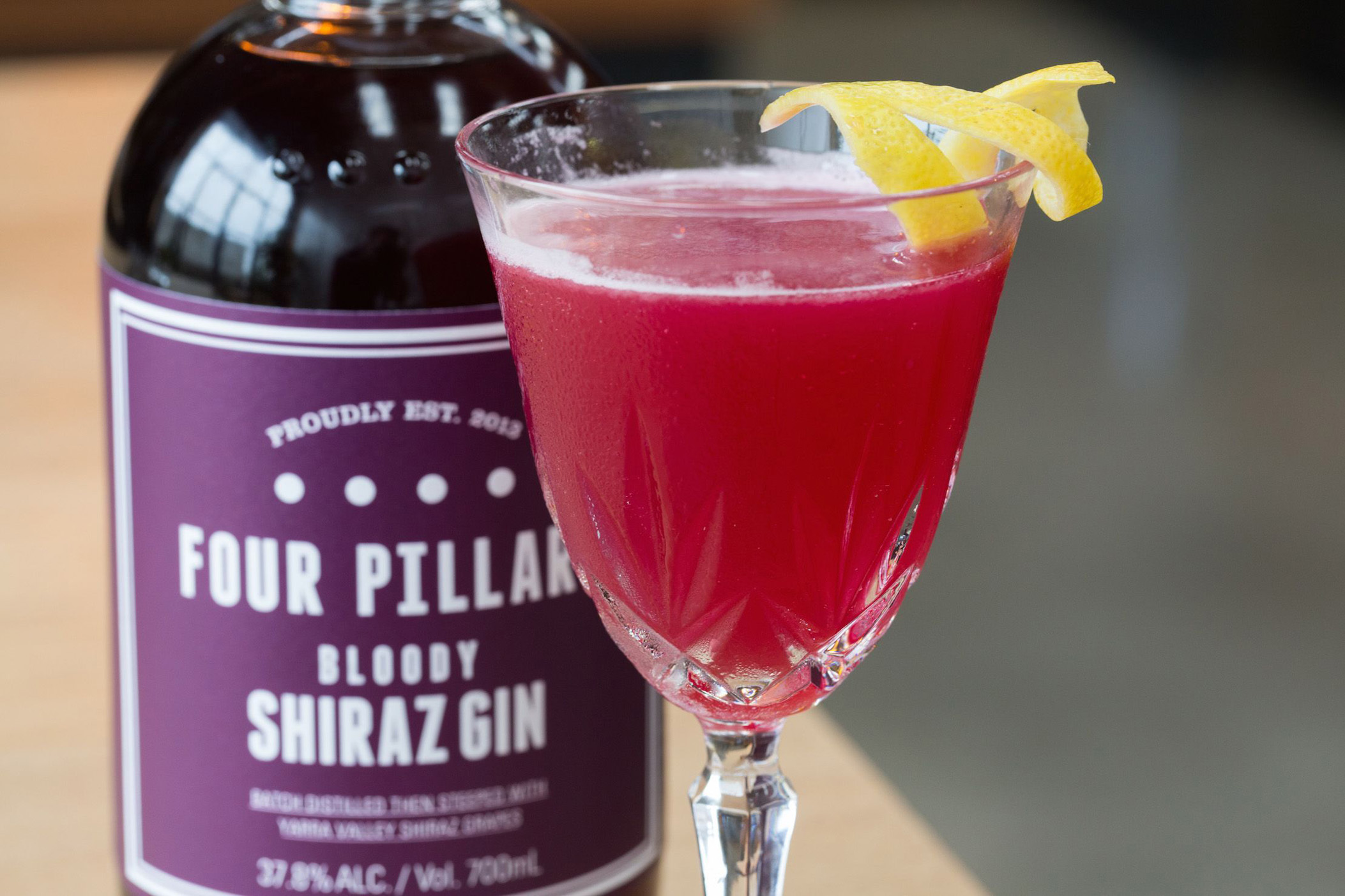 Four Pillars Bloody Shiraz Gin (Four Pillars/PA)