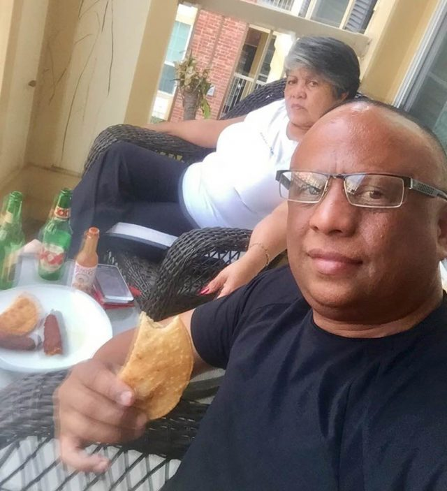 Ramon Sosa and his mother (Collect/PA Real Life)