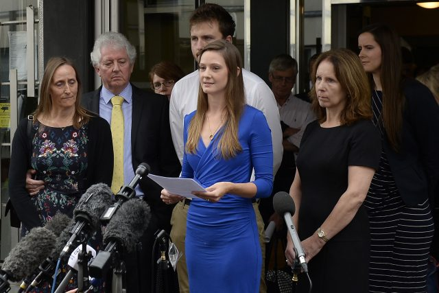 The Widow Of Corporal James Dunsby Bryher Dunsby Speaks After An Inquest Into Her Husbands Death Joe Giddens Pa