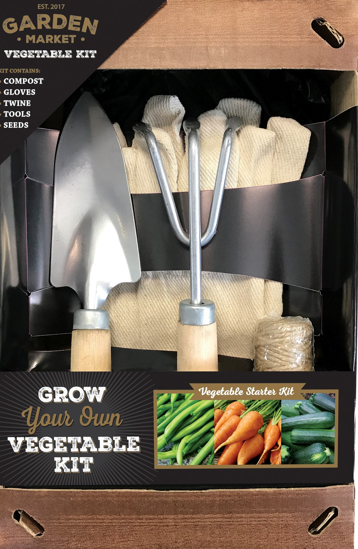 Garden Market Vegetable Kit (Wyevale Garden Centres/PA)