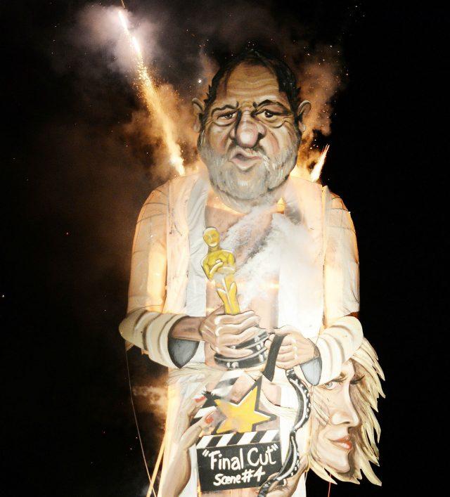 Weinstein effigy