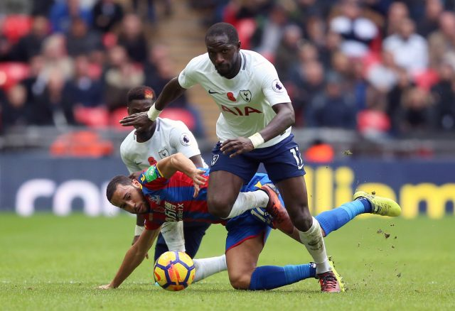 Moussa Sissoko has become a regular for Spurs this season