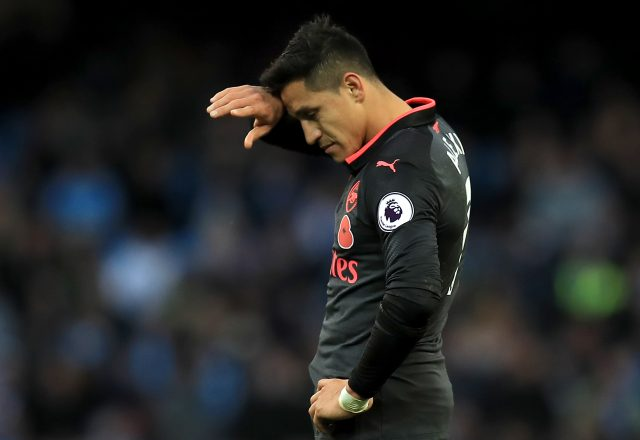 Alexis Sanchez was the subject of a bid from Manchester City in the summer