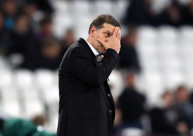 Slaven Bilic is looking for a new job