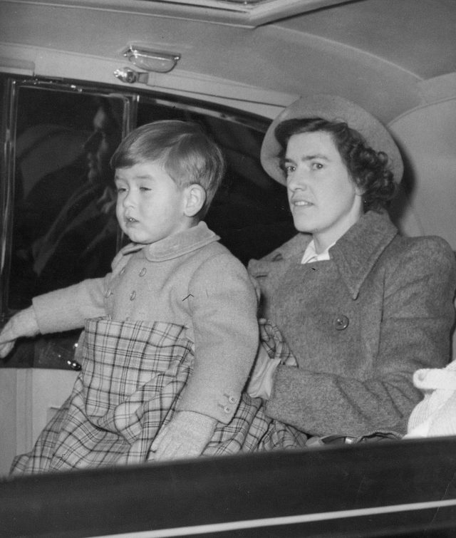 A young Prince Charles. (PA)