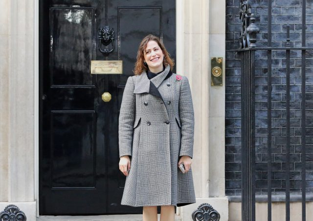 Victoria Atkins leaving 10 Downing Street. (Rick Findler/PA)