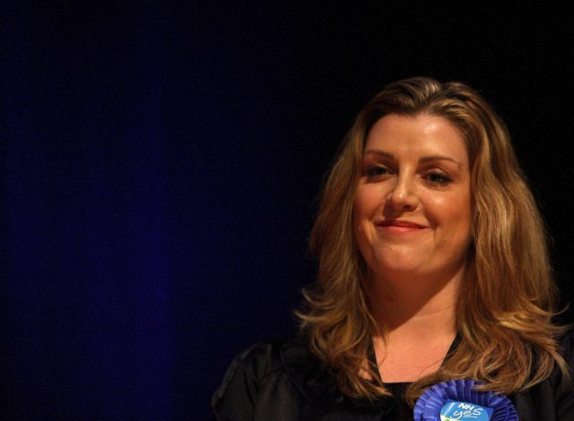 Penny Mordaunt in 2010. (Steve Parsons/PA)