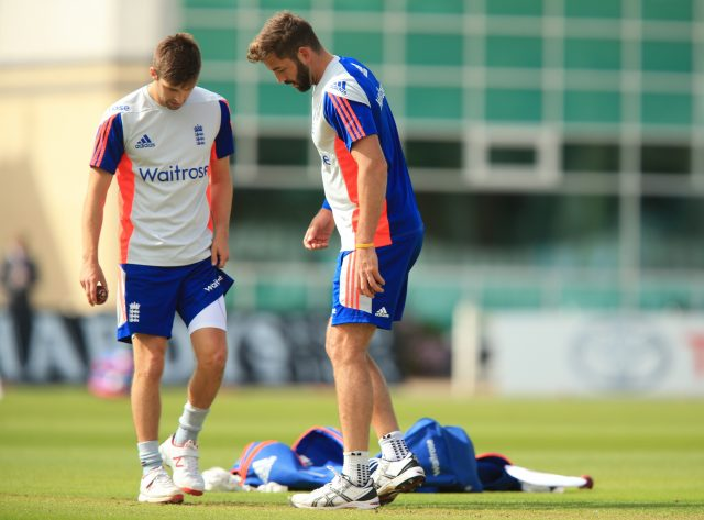 Mark Wood, left, and Liam Plunkett, right, are other options if England need bowling reinforcement (Mike Egerton/PA)