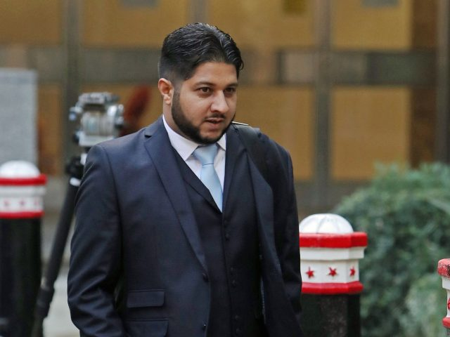 Yaseen Aslam said he was entitled to worker rights (Steve Parsons/PA)