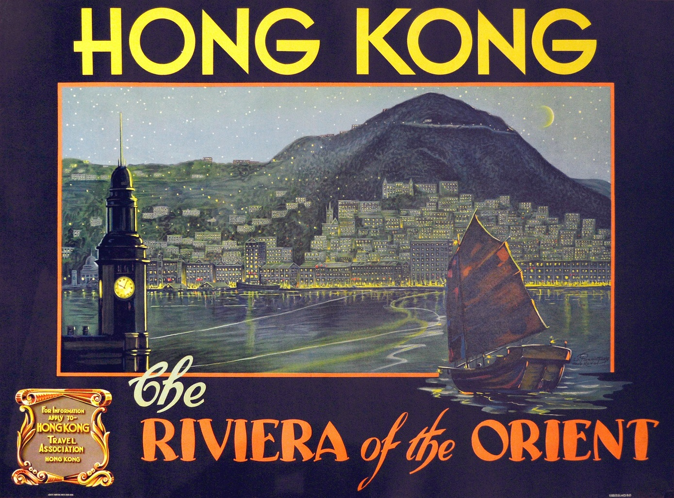 S. D. Panaiotaky, Hong Kong - Riviera of the Orient, c. 1930