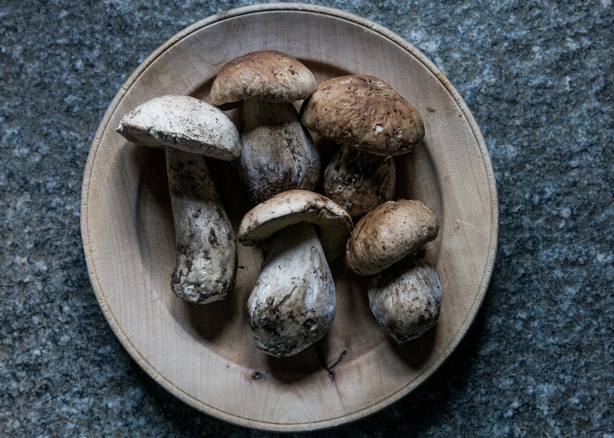 Porcini mushrooms.