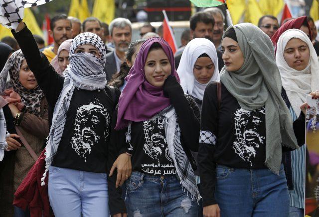(Khalil Hamra/AP/PA)