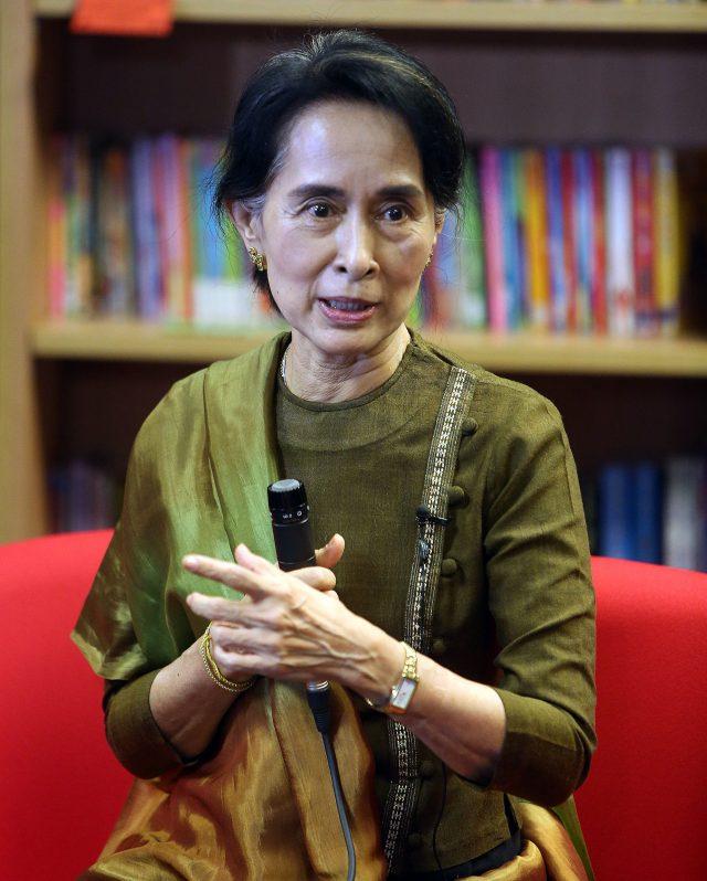 Aung San Suu Kyi. (Paul Faith/PA)