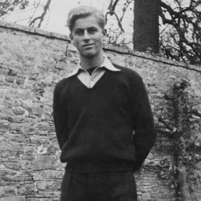 Prince Philip, pictured in 1939