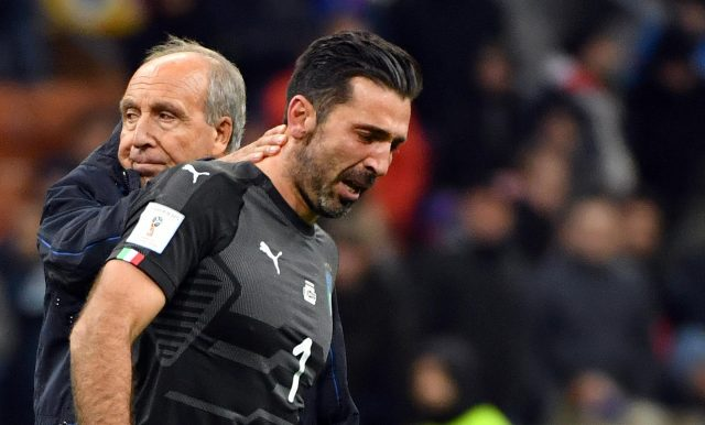 Giampiero Ventura and Gianluigi Buffon will not be heading to Russia